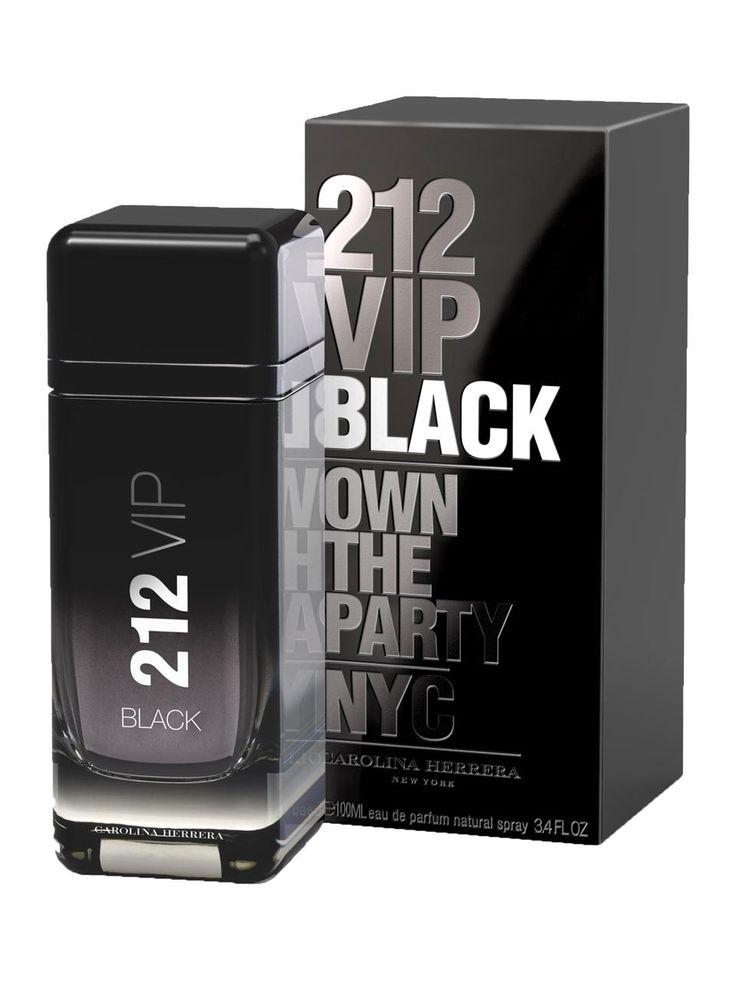 Carolina Herrera 212 VIP Black packshot