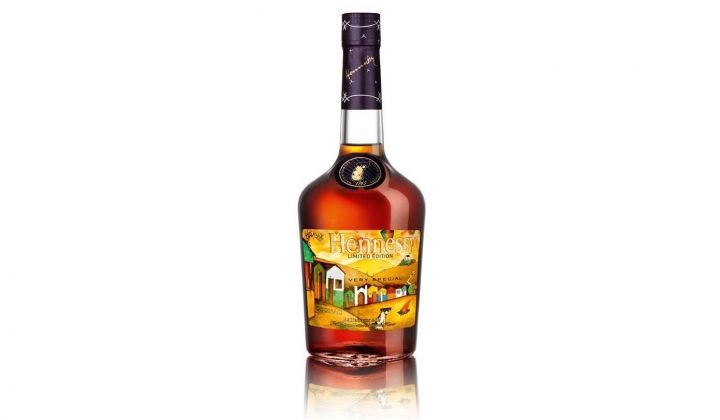 Os Gemeos for Hennessy Limited Edition Cognac Bottle