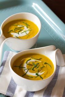 Creamy Carrot & Leek Soup