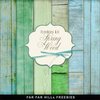 Far Far Hill - Free database of digital illustrations and papers: New Freebies Kit of Wooden Background