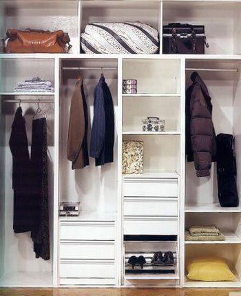 17 mejores ideas sobre interior armario empotrado en - Organizar armarios empotrados ...