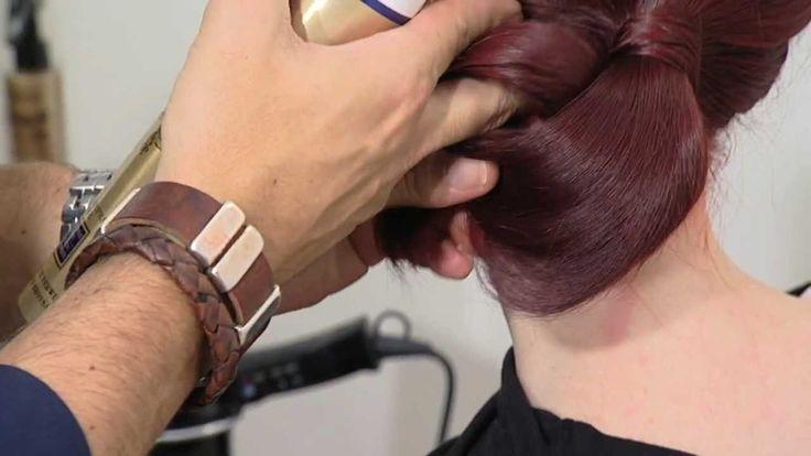 Haar opsteken: de lage knot