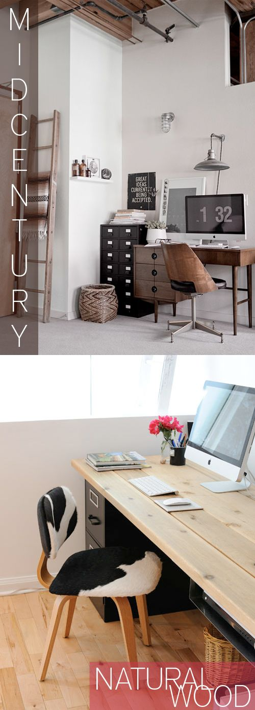 Office Space - Desks and Decor