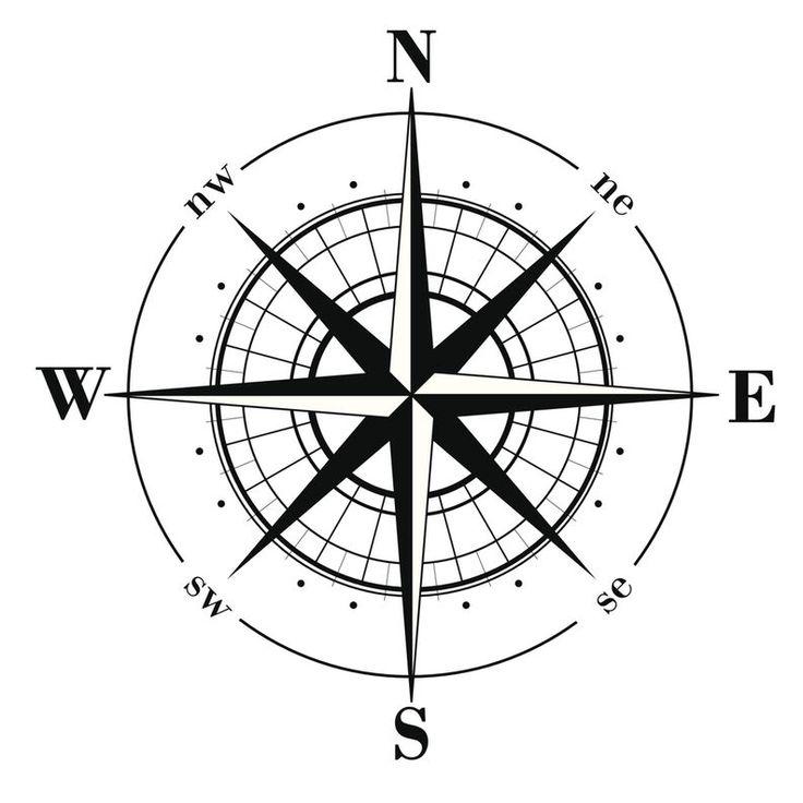DIY Mariner's Compass Rose Medallion on Concrete Floor thumbnail Rose Tattoos, New Tattoos, Tattoos For Guys, Tatoos, Arrow Tattoos, Compass Drawing, Compass Tattoo Design, Forearm Tattoos, Sleeve Tattoos