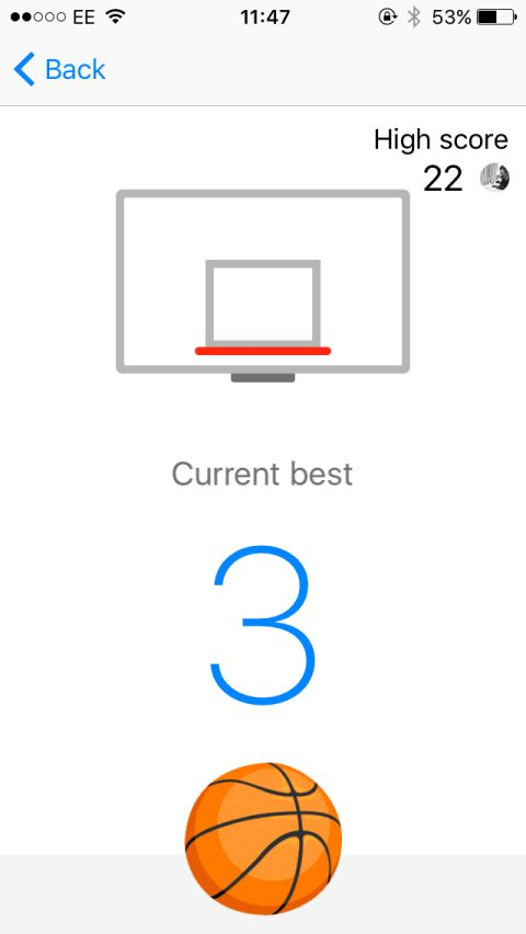 How to beat Facebook Messenger's basketball game