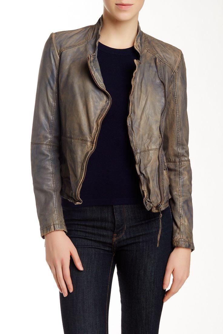 Leather jacket nordstrom rack - Kendyll Genuine Leather Biker Jacket By Muubaa On Hautelook Leather Biker Jacketsnordstrom Rack
