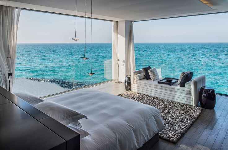 Zaya Nurai Island - 4br/4b 10,000sq ft Water Villa w/pool at Abu Dhabi's hottest new boutique beach hotel of 32 sublime villas on a private island. Spacious outdoor areas include elegant verandas and private palm-fringed pool with unrivalled views of the ocean.