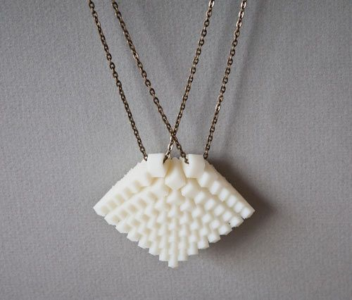3D Printed Jewelry by Hot Pop Factory in technology style fashion Category