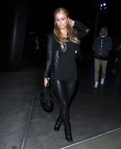 Paris Hilton - Paris Hilton Leaves the Staples Center