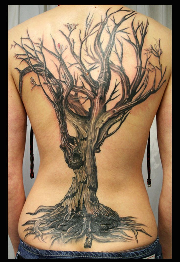 25 best tree tattoo back ideas on pinterest on back for Tree back tattoo