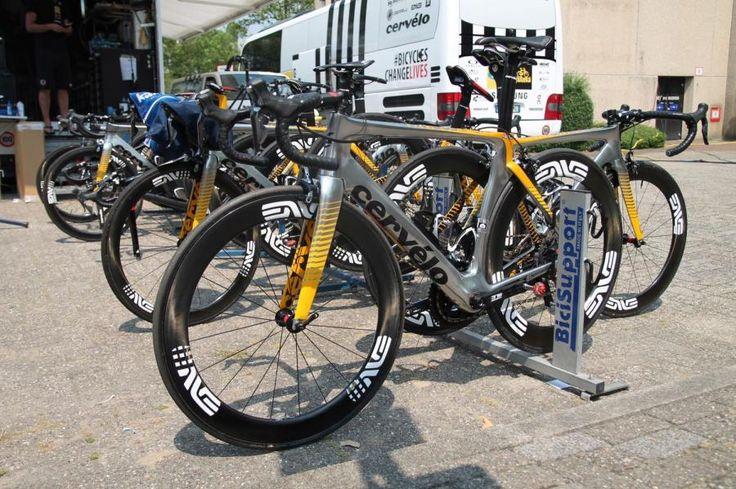 Tour de France 2015 Bikes: Steve Cummings' Cervélo S5   road.cc