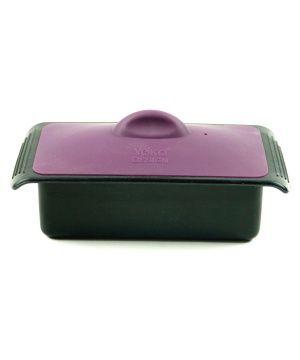 Силиконов терин за готвене с вместимост 0.500 кг в черен и лилав цвят от Yoko Design