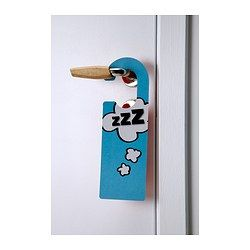 IKEA - RETSAM, Door tag, , 4 colourful door tags printed on both sides for a total of 8 different patterns.Hang them outside your door or from the knob of a cabinet to communicate different messages or moods.You can write on the door tags to make them personal.