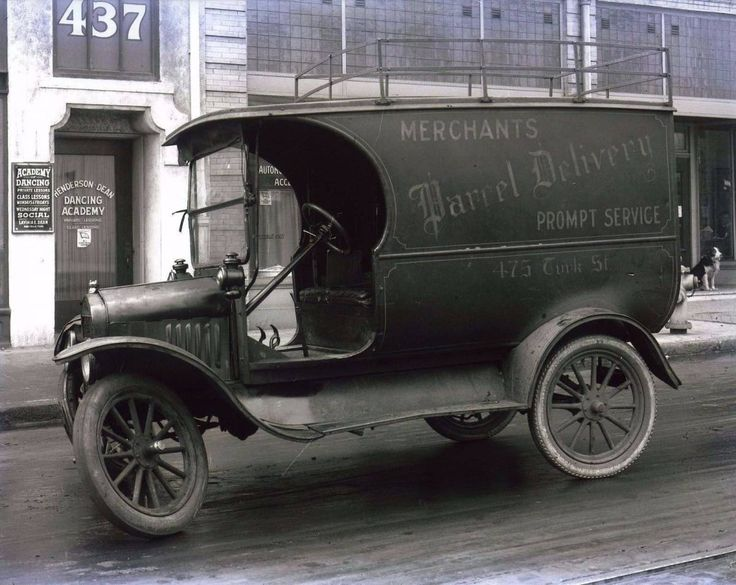 Model T Ford Forum: Parcel delivery truck-oops-Photo