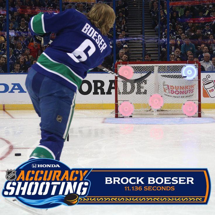 BROCK BOESER @ the 2018 NHL All Star Game.