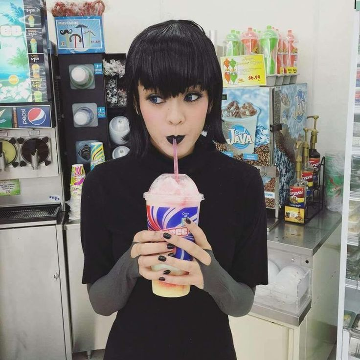 Mavis on another icee binge!  Love this cosplay!                                                                                                                                                                                 More