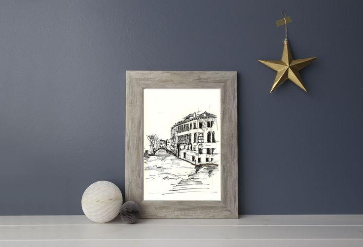 Venesia Architecture print