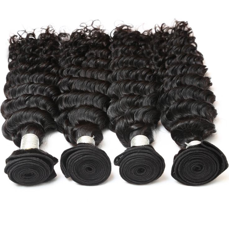【Indian Diamond Virgin Hair】natural black human hair weave bundles raw indian deep wave remy human hair weave bundles  wholesale indian deep wave hair extensions #wholesalehair #virginhair #hairbundles