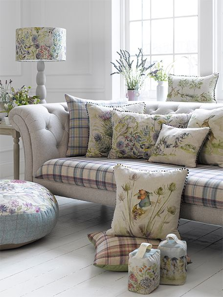 25 best ideas about floral sofa on pinterest timorous - Cushion flooring for living rooms ...