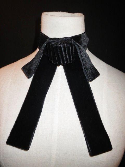 velvet ribbon design choker / ブラック 黒 ベルベット ベロア リボン デザイン チョーカー ネックレス 大ぶり アクセサリー レトロ アンティーク クラシック シンプル 原宿 通販 古着 USED アメリカ ヴィンテージ レディース
