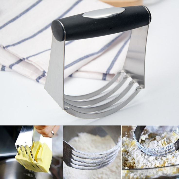 Annstory Stainless Steel Pastry Scraper Dough Blender Cutter Set With Blade  Kitchen Tools & Gadgets