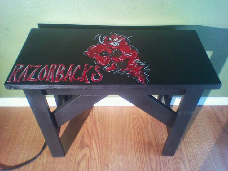 Razorback Classroom Decor : Razorback bench art pinterest benches