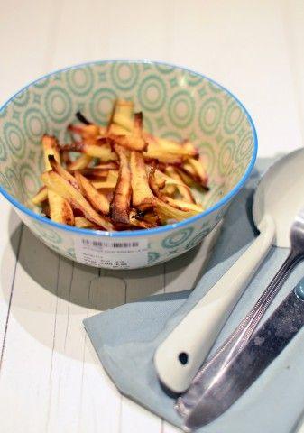 Pastinaak frieten uit de oven - Uit Paulines Keuken / healthy parsnip fries