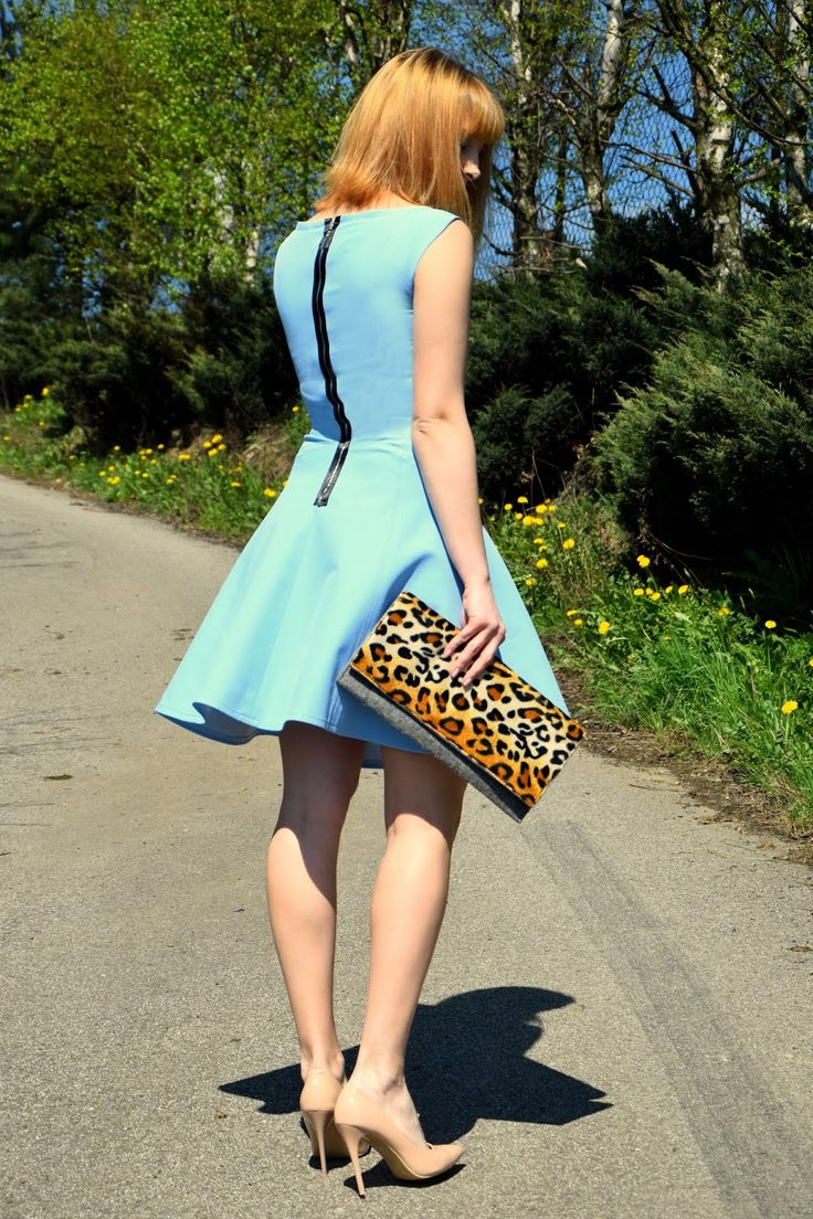 Haligashka: Niebieska sukienka