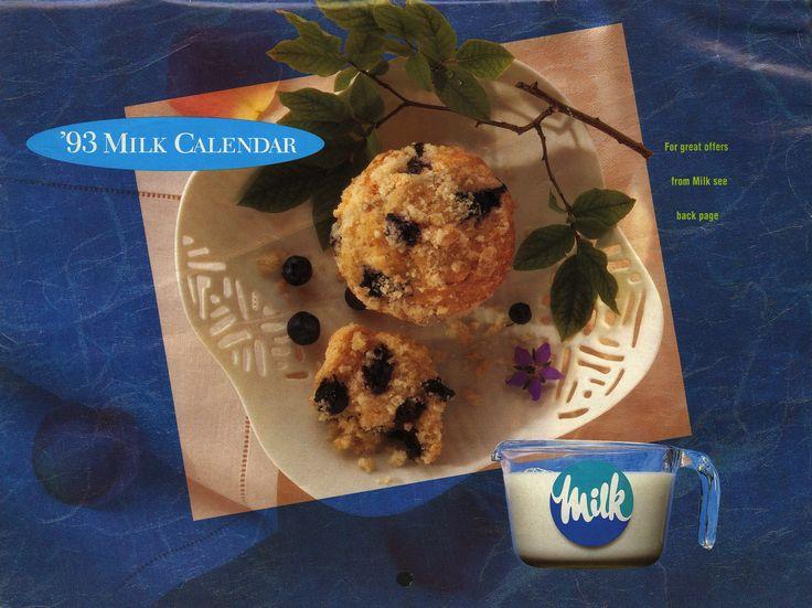 Milk Calendar - 1993