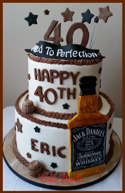 The 329 Best 40th Birthday Cakes Images On Pinterest 40th Cake