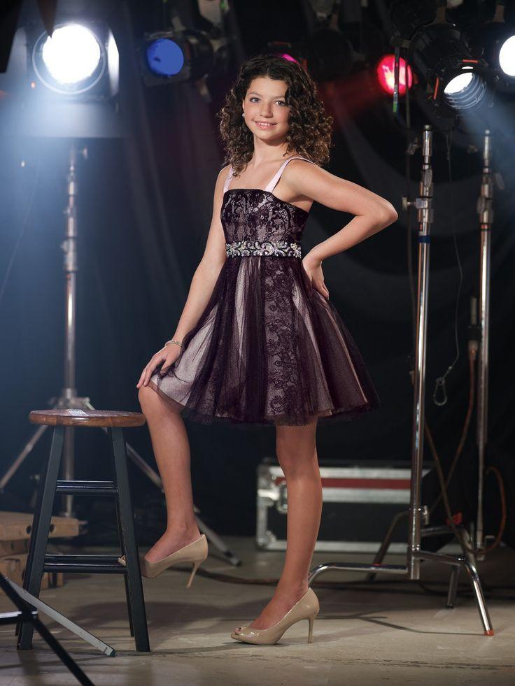 Girls Party Dress Lexie By Mon Cheri Tween Party Dress