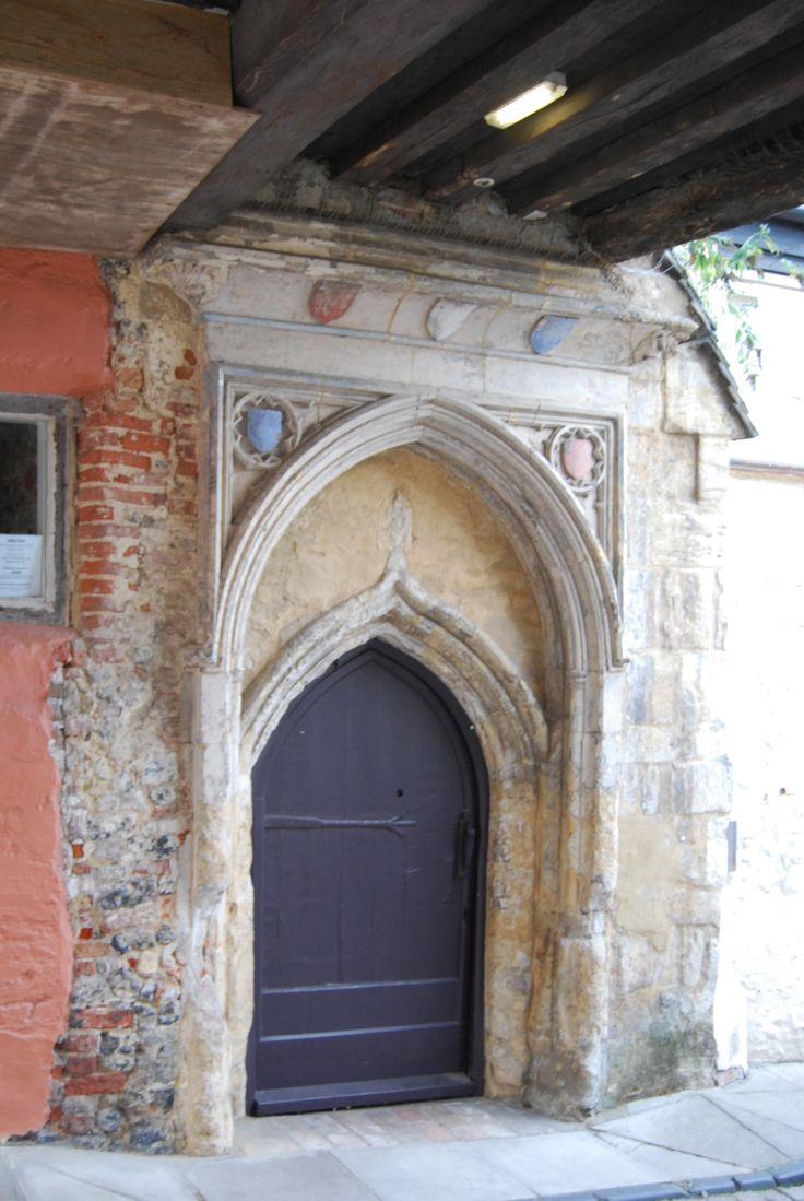 3 September | Norwich | Dragon Hall doorway