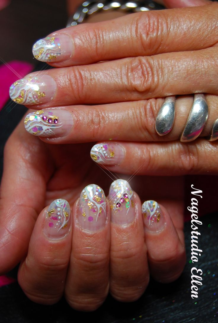 About baby boomer nail art tutorial by nded on pinterest nail art - Nails Inlay