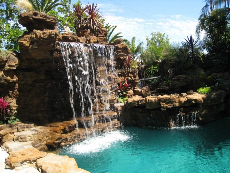 Best Swimming Pools Land Scaping Images On Pinterest