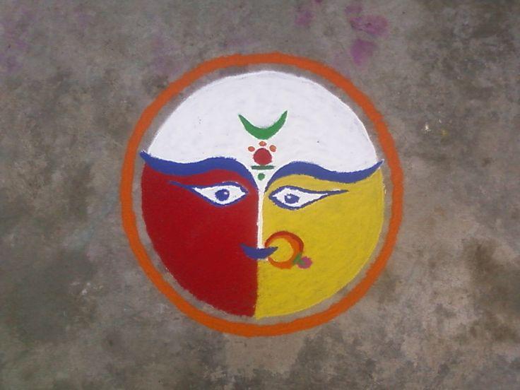 38 best images about rangoli on pinterest love birds for Home made rangoli designs