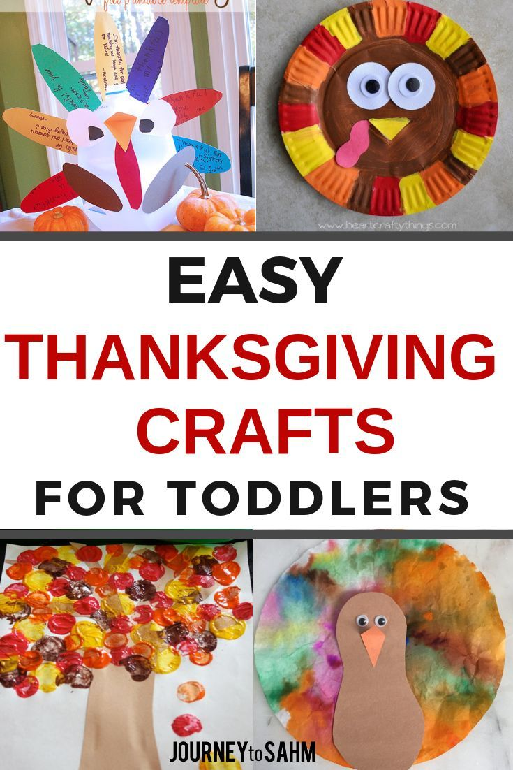 The Best Thanksgiving Crafts For 2 Year Olds Thanksgiving With