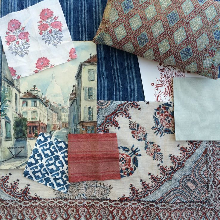 Arte Design In Los Angeles Images: 39 Best Fabric Inspiration Boards Images On Pinterest
