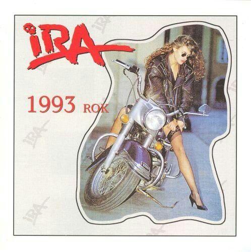 Okładka albumu zespołu IRA 1993 rok