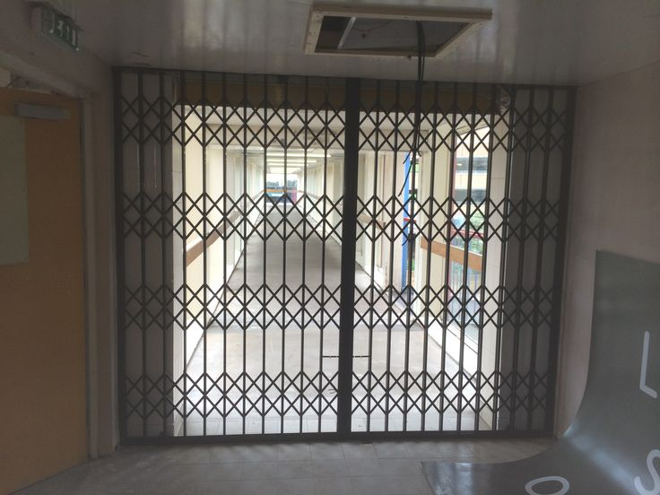 Internal SWS Seceuroguard security gates installed at Queensgate shopping centre, Peterborough.