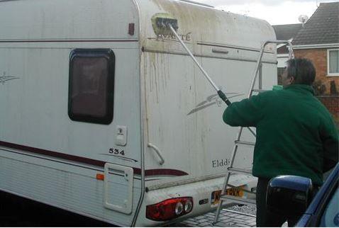 The Mobile Caravan Man Spixworth, Norwich, Norfolk, UK, England. Caravan Servicing. Caravan Cleaning. Caravan Safety Checks. Caravan Repairs & Servicing. Damp Tests.