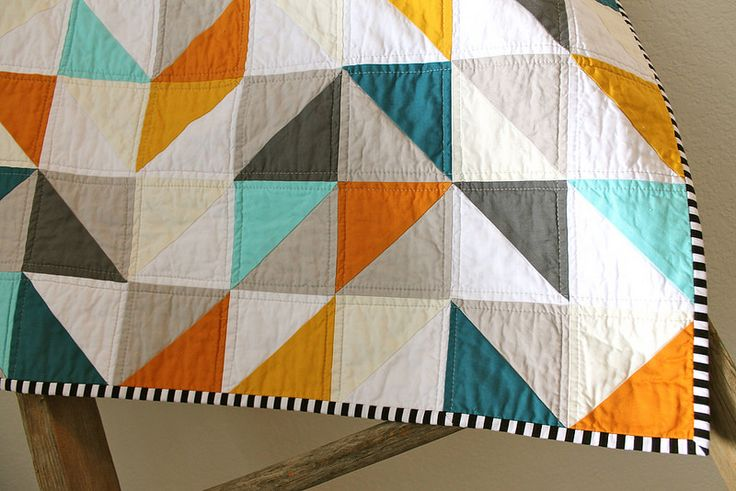 warms + cools baby quilt | by CB Handmade