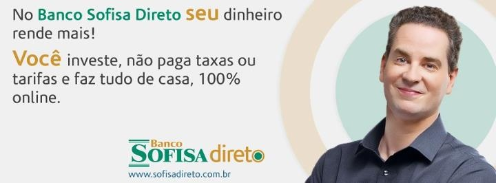 Visite nossa Fan Page e fique por dentro das novidades do Banco Sofisa Direto.  www.facebook.com/bancosofisadireto