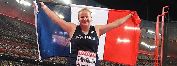 Alexandra TAVERNIER médaillée de Bronze /lancer du marteau-Championnats du Monde 2015-Pékin (FFA)