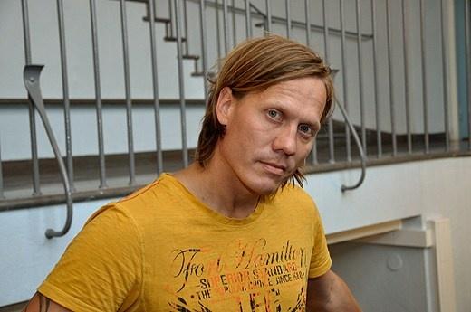 "Interview Sveriges Radio P4 Sept, 2012  Program: ""Brus & Kompani"" with Mats Ingels   photo: Tobias Grus   http://sverigesradio.se"