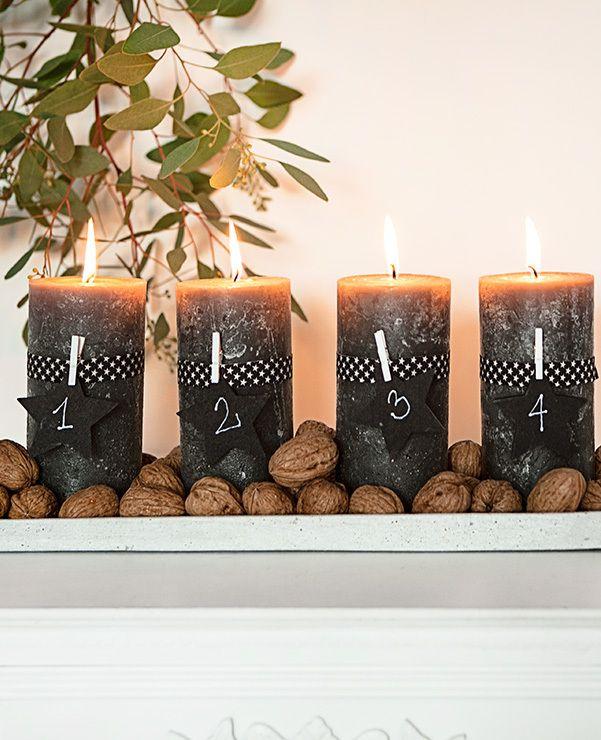 der adventskranz mit seinen vier hellen kerzen ist ein symbol f r vorfreude und besinnlichkeit. Black Bedroom Furniture Sets. Home Design Ideas