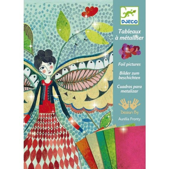 Djeco - Craft Kit Foil Pictures Fireflies  Djeco makes me go giddy with all their wonderful creative kits. My little artist could hardly wait to get stuck into crafting with this kit. #Entropywishlist #pintowin
