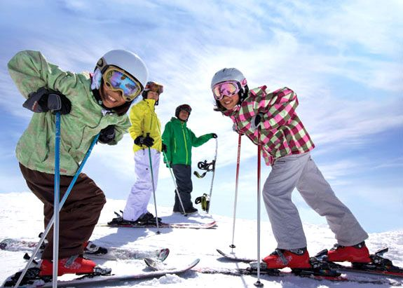 Free Ski Pass for Grade 4 & 5 Students
