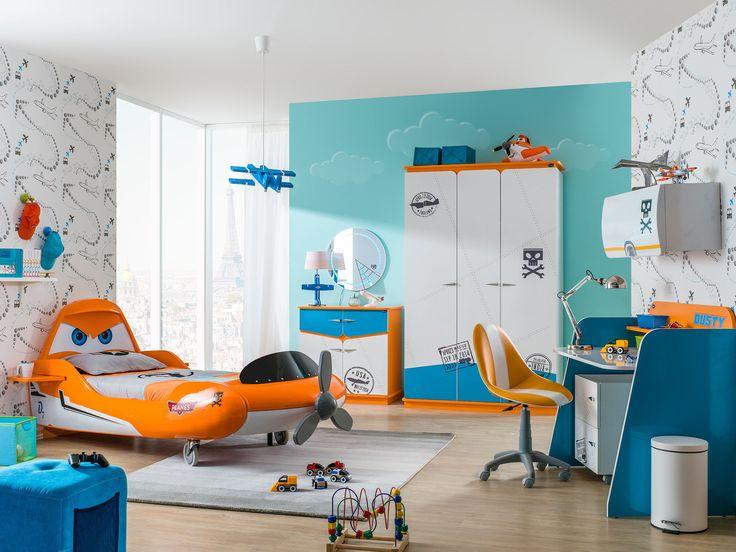 Chambre enfant complète « Disney Planes »