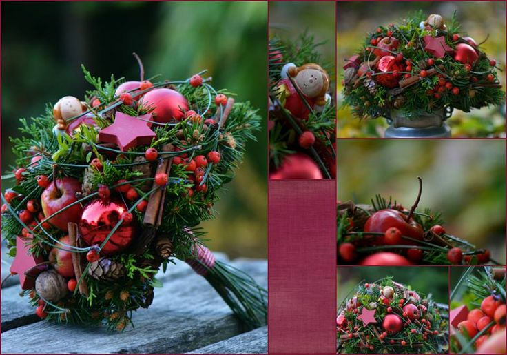.Amazing holiday bouquets