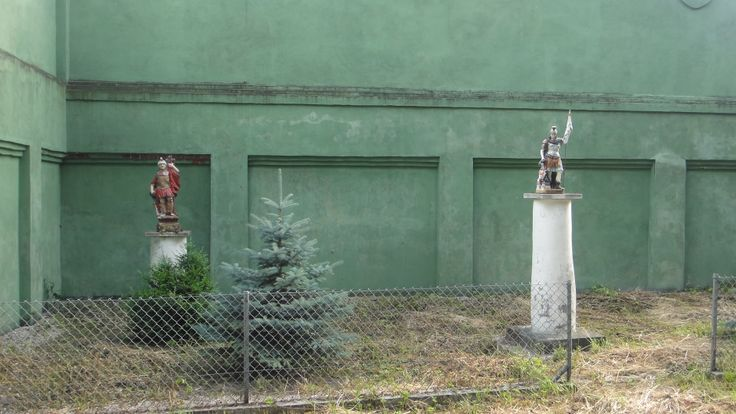 Figury Świętego Floriana w Nieznanowicach